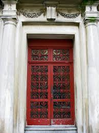 Detail of the Day A Vintage Red Door in Washington Heights