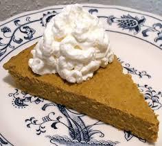 Crustless Pumpkin Pie by Crustless Pumpkin Pie Linda U0027s Low Carb Menus U0026 Recipes