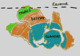Evidence For Seafloor Spreading Comes From by Contracting Earth V Continental Drift V Plate Tectonics Earth
