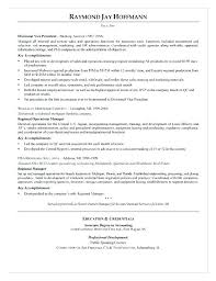 Resume Samples For Banking Professionals Mortgage Banker Sample Format Experienced Professional