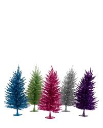 5ft Pre Lit White Christmas Tree by Colorful Little Divas Mini Christmas Tree Treetopia