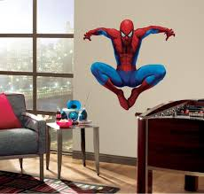 Wall Mural Decals Amazon by Roommates Rmk1078gscs Amazing Spiderman Stick Peel And Giant Wall