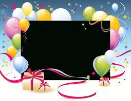 Happy Birthday Card Template Transparent – Stickpng for Happy Birthday Card Template