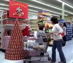 Doomed Supermarket Display