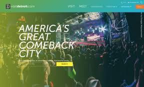 detroit metro convention visitors bureau detroit metro convention visitors bureau launches redesigned