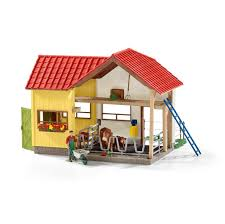 Schleich Barn With Animals And Accessories - Toys