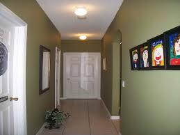 decoration hallway decorating ideas green wall tierra este 66304