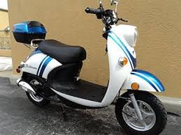 1 TaoTao CY50 B BLUE 49cc Gas Automatic Scooter