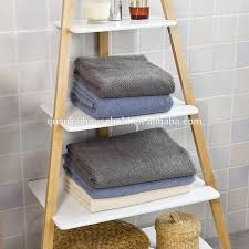 bambus leiter rack wand regal badezimmer regal mit haken buy bambus leiter rack wand regal bad regal product on alibaba