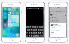 Dropbox iOS 9 App Enables 3D Touch Support For Faster Searching