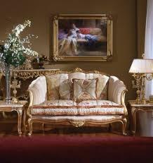 Small Sitting Area Luxury Italian Designer Furniture Sofa