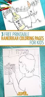 Aw Arent These Free Printable Hanukkah Coloring Pages Cute Get Kids
