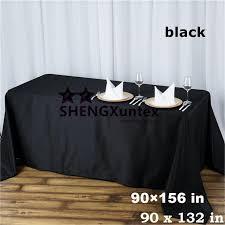 top vente et pas cher prix noir couleur rectangulaire de table de