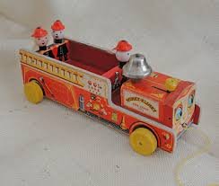 Vintage 1954 Fisher Price Wood Winky Blinky Fire Truck Pull Toy ... Mattel Fisherprice 2007 Little People American Fire Truck Toy With Fisherprice Little People Wheelies All About Trucks Amazonca Press N Go Monster Assorted Toys R Us Australia Fireman Sam Driving The Mattel Fisher Price Fire Engine Youtube Die Cast Vehicle Blaze New Toy Free Mega Bloks Food Truck Kitchen From Preschool 1977 Ad Advertisement Gallery Shake N Racers Street A Teeny Tiny Blog Back On Farm Power Wheels Ford F150 Battery Powered Riding Blue Cdf53 Imaginext Six Wheeler Play Set Toysrus