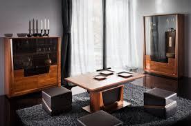 wohnzimmer komplett set j lopar 3 teilig teilmassiv farbe nuss schwarz
