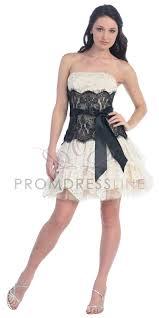 ivory black elegant lace strapless short layered bridesmaid u0026 prom