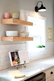 Bathroom Floating Shelves Medium Size Of Kitchen Rustic In Wall