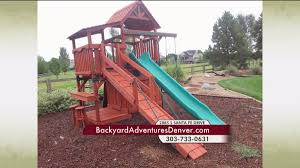 Backyard Adventures | FOX31 Denver Wooden Swing Sets Toysrus Products Outdoor Playsets Backyard Adventures Denver Red And Green Living Room Rustic Duvet Discovery Atlantis Cedar Set Walmartcom Backyards Superb Ideas For An Adventure Themed Birthday Party Why You Shouldnt Buy Cheap Online Nj Swingsets The Best Of Urban Project