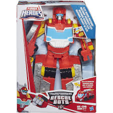 Playskool Heroes Transformers Rescue Bots Elite Rescue Heatwave ...