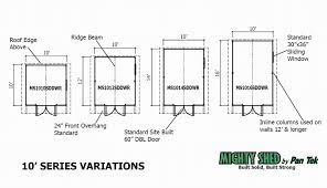 10x12 Shed Material List by Neslly More 8 X10 Shed Plans