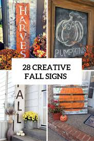 28 Creative And Cute Fall Signs To Welcome Autumn