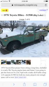 Pin By Bill On #1stGenToyotaHilux | Pinterest Record Store On Wheels Craigslist Cars And Trucks Mn Best Image Truck Kusaboshicom 1933 Chev 1 Ton 29000 New Tires Everything Works I Found This Conner Setzers Garage Whewell Projects Cost Of A Model A Ford The Hamb Crapshoot Hooniverse For 2200 May Farce Be With You 1965 Vw Beetle Woodie For Sale Ive Known And Loved Vehicle Scams Google Wallet Ebay Motors Amazon Payments Ebillme Bike Guy Column Lessons From Scuttling Minneapolis Bike Theft