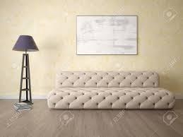 stellen sie sich ein modernes wohnzimmer mit einem ungewöhnlichen sofa und einem stilvollen hintergrund vor