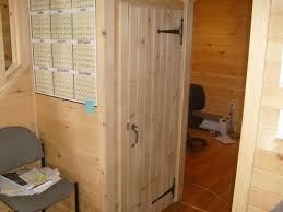 Tuff Shed Cabin Interior by 14x32 Custom Cabin With 6 U0027 Porch Finished Interior And Bathroom