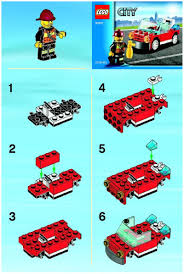City : LEGO Fire Car Instructions 30221, City Lego City Itructions For 60002 Fire Truck Youtube Itructions 7239 Book 1 2016 Lego Ladder 60107 2012 Brickset Set Guide And Database Chambre Enfant Notice Cstruction Lego Deluxe Train Set Moc Building Classic Legocom Us New Anleitung Sammlung Spielzeug Galerie Wilko Blox Engine Medium 6477 Firefighters Lift Parts Inventory Traffic For Pickup Tow 60081