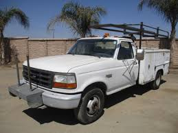 100 Ford F350 Utility Truck Lot XL Proxibid Auctions