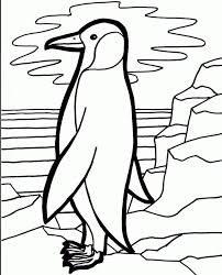 Printable Penguin Coloring Pages For Winter Archives Penguins Animal