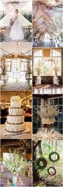 Rustic Fall Wedding Decor Ideas Tree Branches