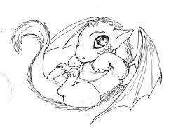Baby Dragon Coloring Pages Simple Baby Dragon Coloring Pages