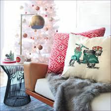 bedroom bright decorative pillows orange throw pillows