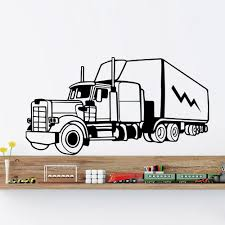 Aliexpress.com : Buy Wall Decals Trucks Trailer Tractor Big Machine ... Cars Wall Decals Best Vinyl Decal Monster Truck Garage Decor Cstruction For Boys Fire Truck Wall Decal Department Art Custom Sticker Dump Xxl Nursery Kids Rooms Boy Room Fire Xl Trucks Stickers Elitflat Plane Car Etsy Murals Theme Ideas Racing Art