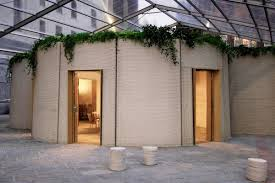 100 House In Milan 3D Printed House Unveiled In Smart Cities World