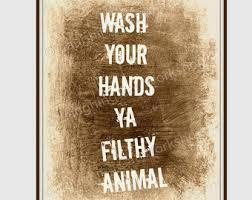 Funny Bathroom Art Etsy by Bathroom Art Print Funny Bathroom Art U0027wash Your Hands