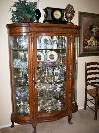 Modern antique china cabinet