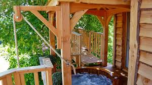 100 Tree Houses With Hot Tubs Romantictreehousewithhottub09 Wowow Home Magazine