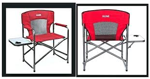 Uline Folding Chairs Directors Chair Side Table Drink Holder New In Box Value