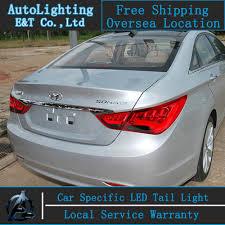 car styling led for hyundai sonata lights sonata8 2011 2014