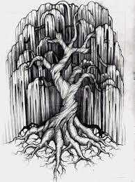 Willow Tree Tattoo Design