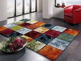artwork pattern moderner designer teppich bunt in multicolor größe 200x290 cm