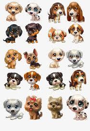 3d Cartoon Dog Clipart PNG And PSD