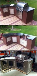 Best 25+ Diy Outdoor Kitchen Ideas On Pinterest | Grill Station ... Just About Done With My Outdoor Kitchen Diy Granite Grill Hot Do It Yourself Outdoor Kitchen How To Build Cabinets Options For An Affordable Lighting Flooring Diy Ideas Glass Countertops Oak Kitchens On A Budget Best Stunning Home Appliance Brick Stonework Brings Balance Of Cheap Hgtv Kits Decor Design Amazing Island Designs Plans Patio To