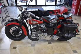 Used 1943 Harley Davidson WLC W Sidecar