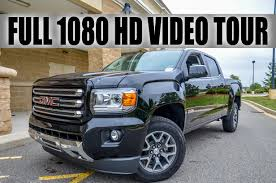 2015 GMC Canyon All Terrain - Full Video Tour - YouTube Sold2015 Gmc Canyon Crew Cab Slt Standard Box Black 38270 Msrp Chevrolet Brings Back The Midsized Colorado Coleman Pressroom United States Canyon 2019 Midsize Truck Diesel Chevy Z71 Trail Boss Edition On Point Off Road 5 Best Pickup Trucks Gear Patrol 2015 V6 4x4 Crew Cab Test Review Car And Driver First Drive Coloradogmc Medium Duty Work Driving Impression 25l Extended