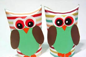 Paper Roll Crafts Thanksgiving For Kids Owl Toilet Rolls Ideas