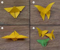 Origami Process And Paper Crafts Butterfly Zeeq Artroom