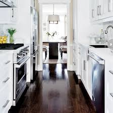 Ideas Kitchen Extraordinary White Top Granite And All Best Galley Designs With Small